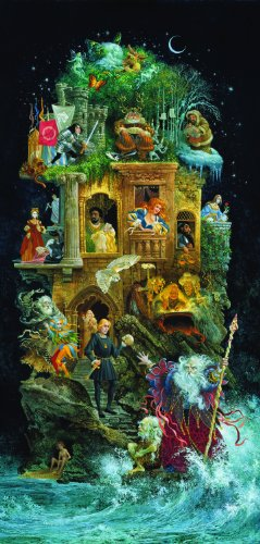 Shakespearean Fantasy 1000 pc Jigsaw Puzzle