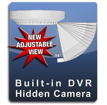 PalmVID DVR PRO Smoke Detector Hidden Camera Spy Camera with Adjustable View