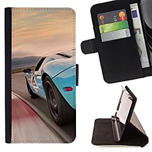 Jordan Colourful Shop - F0rd GT Supercar For Apple Iphone 4 / 4S - Leather Case Absorci???¡¯???€????€??????????&fno