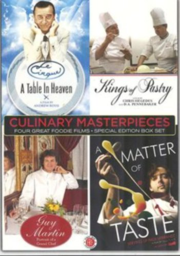 Culinary Masterpieses - Le Cirque A Table In Heaven - Kings of Pastry - Guy Martin and A Matter of Taste