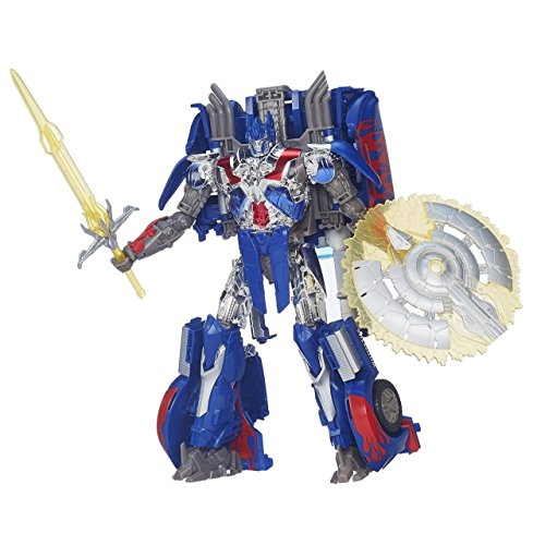 Transformers:  Age of Extinction First Edition Optimus Prime Figure (First Transformer)