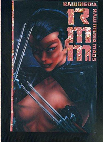 - Raw Media Mags 1 Tim Vigil Rebel Studios 1991 VF/NM CBX1L
