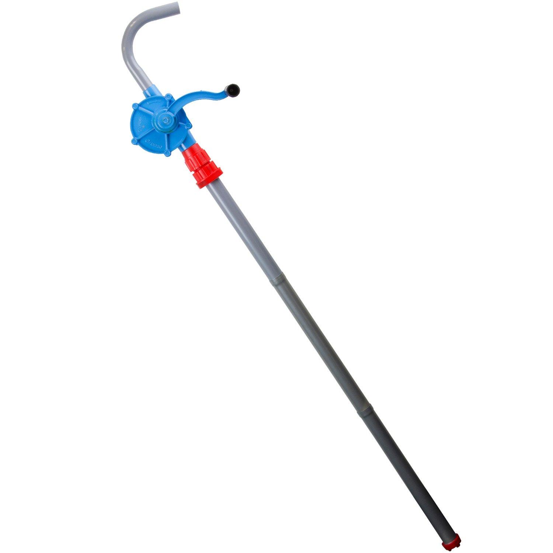 TERAPUMP Blue Aluminum Rotary-Action Drum Pumps