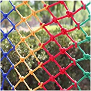 Rope net Decoration net Color Rope Net Children's Pet Stairs Anti-fall Netting Balcony Swing Safety Net Pr
