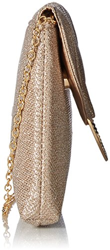 Rose McClintock Gold Envelope Meadow Clutch Jessica 1SaIva