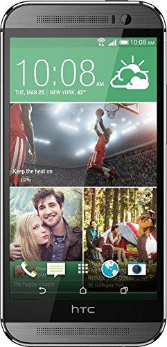 Htc Phones Verizon (HTC One M8 6995L 32GB ANDROID Verizon Wireless 4G LTE Smartphone w/ Dual-Frontal Stereo Speakers - Gunmetal Grey (Certified Refurbished))