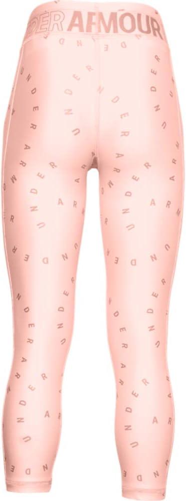 Under Armour Girls Armour HeatGear Print Novelty Crop Leggings