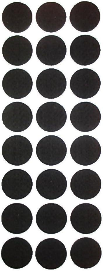 etc. EXTRA LARGE 12 C/ÍRCULO DE AUTO fieltro adhesivo TAB Pads rasgu/ño suelo resistente protector para su uso en todos los muebles sof/ás sillas mesas taburetes