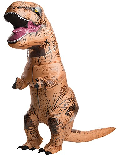 Rubies Jurassic World T-Rex Inflatable Costume, Uni-Sex