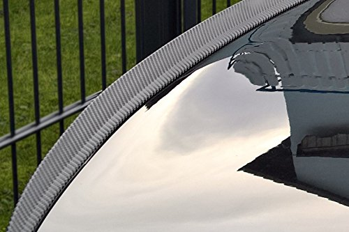 Car-Tuning24 54441377 wie Performance und M3 5er E60 2004-10 tuning spoiler CARBON look heckspoiler SLIM lippe heck flaps