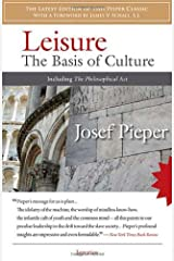 Leisure: The Basis of Culture Paperback