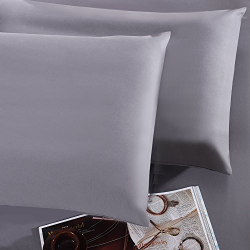Great Features Of Pollymaid Linens Pillow Case Set - 100 percent Ultra Soft Double Sided Brushed Mic...