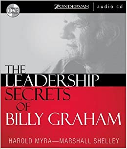 Book LEADERSHIP SECRETS OF BILLY GRAHAM AUDIO