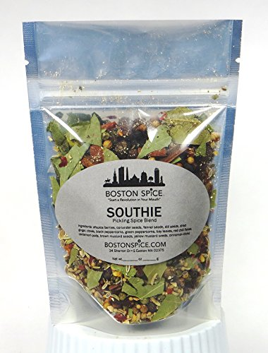- Boston Spice Southie South Boston Pickling Spice Seasoning Blend To Make Awesome Corned Beef and Pastrami (Approx. 1 Cup of Spice)