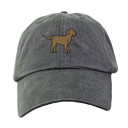 Lane Weston Chocolate Labrador Retriever Embroidered Baseball Hat Unisex Low Profile -