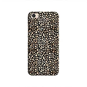 Cover It Up - Brown Black Pebbles Mosaic V5 Plus Hard Case