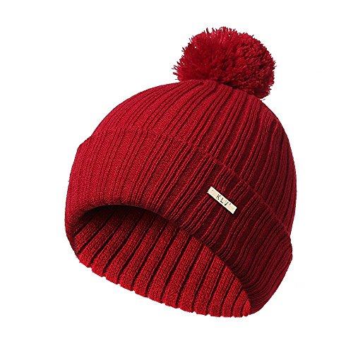 SMALLE ◕‿◕ Clearance,Men Women Baggy Warm Crochet Winter Wool Knit Ski Beanie Skull Slouchy Caps Hat (Nike Beanie Wool)