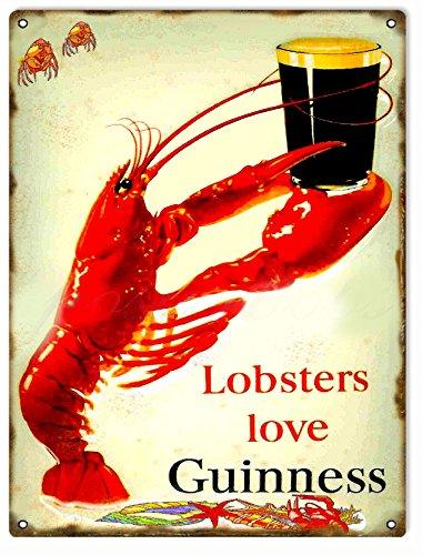 Lobsters Love Guinness Beer Bar and Restaurant (Vintage Lobster)