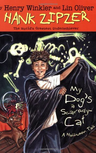 My Dogs a Scaredy Cat #10 A Halloween Tail by Winkler, Henry, Oliver, Lin [Grosset & Dunlap,2006] (Paperback) (Henry The Cat Halloween)