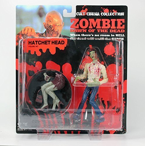 Reds zombie dawn of the dead hatchet head figure