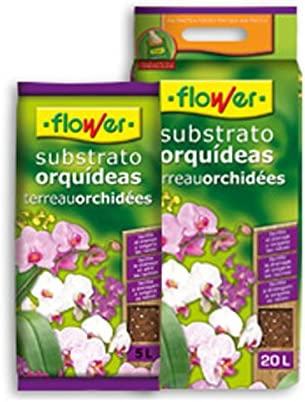 Flower 80017 Substrato Orquídeas 5L, Marrón, 24x4.5x39 cm: Amazon ...