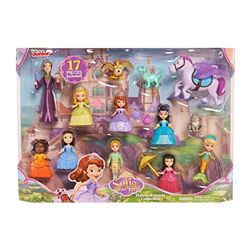 SOFIA 93130 Disney Sofia The First Deluxe Friends Pack, Multicolor