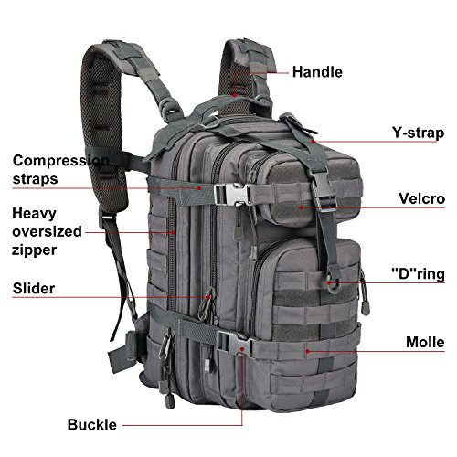 788148758e Jual ARMYCAMOUSA Military Tactical Backpack