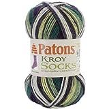 Spinrite PATONS Kroy Socks Yarn, Bramble Stripes