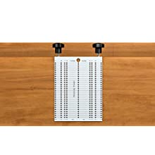 Jig Template for cabinet knobs pulls and handles installation, the SimpleJig
