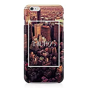 The 1975 The City New York NY Tumblr Hard Plastic Snap-On Case Cover For iPhone 6 Plus by runtopwell
