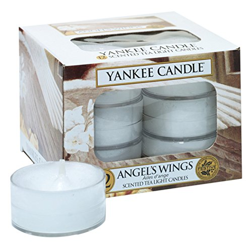 Angel Candle Wing (Yankee Candle ANGEL'S WINGS 12 Scented Tea Light Candles)