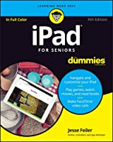 iPad For Seniors For Dummies, 9th Edition Front Cover