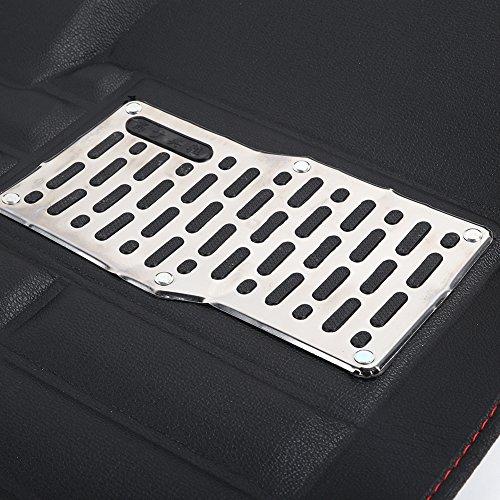 Sedeta 5pcs Universal Car Auto Floor Mats FloorLiner Front Rear Carpet cleaner All Weather Mat by Sedeta (Image #5)