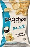 Popchips Potato Chips, Sea Salt, 3.5 Ounce (Pack of 12)