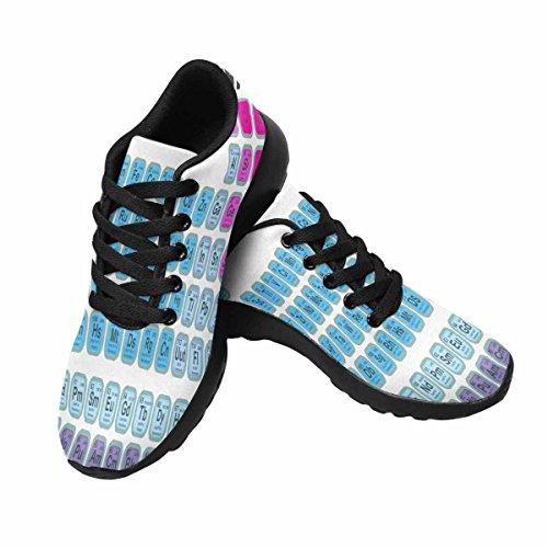 Scarpa Da Jogging Leggera Da Donna Running Jogging Leggera Easy Go Walking Sport Comfort Scarpe Da Corsa Multi 3