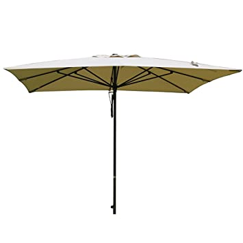 sorara 10 por 10 m Patio paraguas del mercado de aluminio al aire libre mesa paraguas