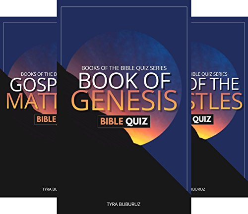 Books of the Bible Quiz Series (5 Book Series)