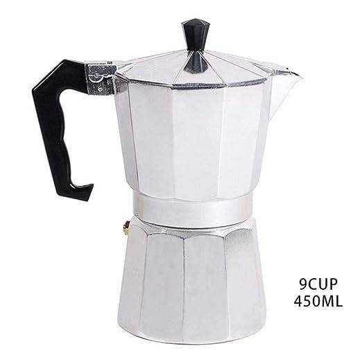 KOIYOI Cafetera Espresso de Aluminio cafetera Octogonal Tipo ...