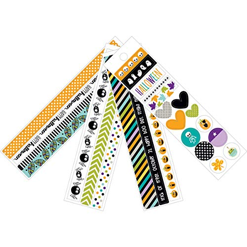 Bella BLVD Spooktacular Collection Halloween Washi Stickers (3 Pack)]()