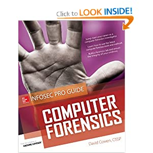 Computer Forensics InfoSec Pro Guide David Cowen