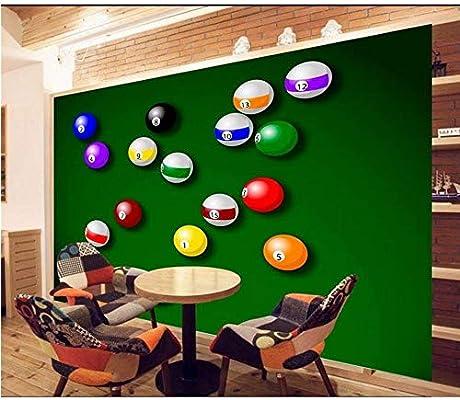 Lsfhb Custom 3D Photo Wallpaper Mural A8 Billar Fondo Verde ...