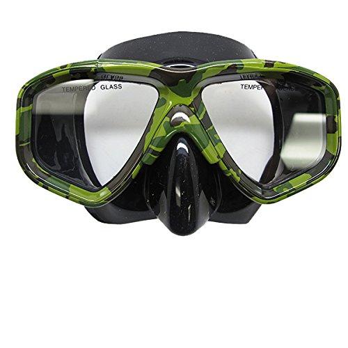 Choix de plongée lestée Spearfishing faible Volume Silicone-Masque de plongée-Camouflage Defog complémentaires en flacon vaporisateur B00IJL5PK2