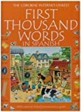 img - for The First Thousand Words In Spanish [With Cassettee and Workbook] book / textbook / text book