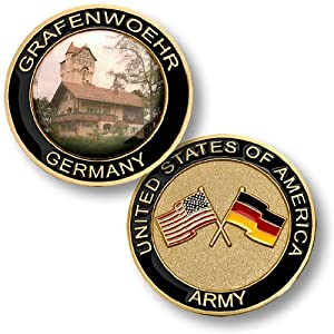 United States Army - Grafenwoehr, Germany Challenge Coin
