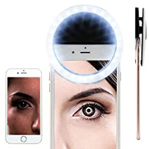 BLU VIVO AIR Selfie Portable Flash Round Circle LED Ring Fill Light Camera Photography For IPhone Android Phone [ Black ] 1880852