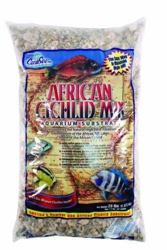 CaribSea Aquatics African Cichlid Mix Sand, 20-Pound, Rift Lake Authentic
