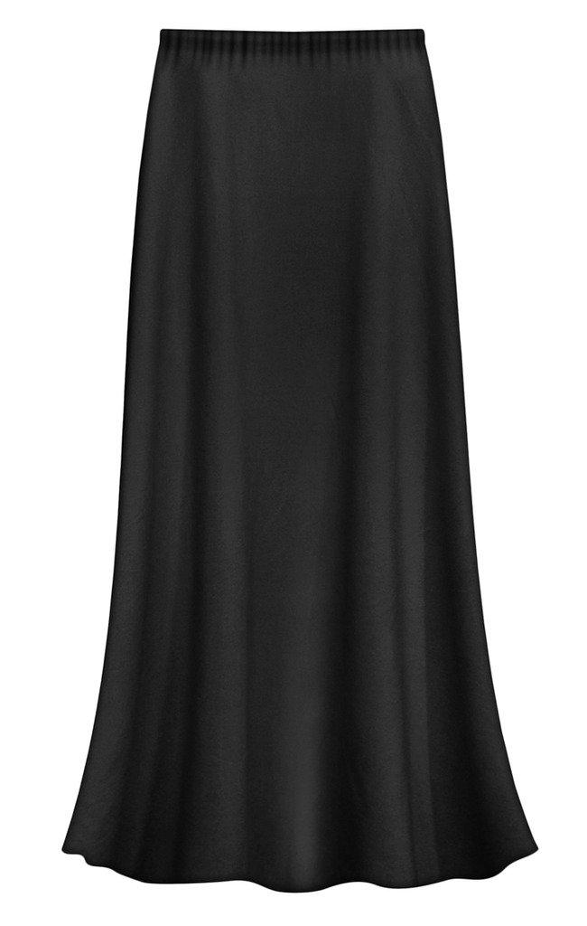 Sanctuarie Designs Black Slinky Plus Size Supersize Skirt 2xT by Sanctuarie Designs