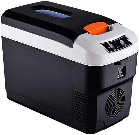 Yestter Nevera Refrigerador portátil de 10 litros para Uso en Exteriores, refrigerador, refrigerador pequeño, Mini refrigerador para Camping, ...