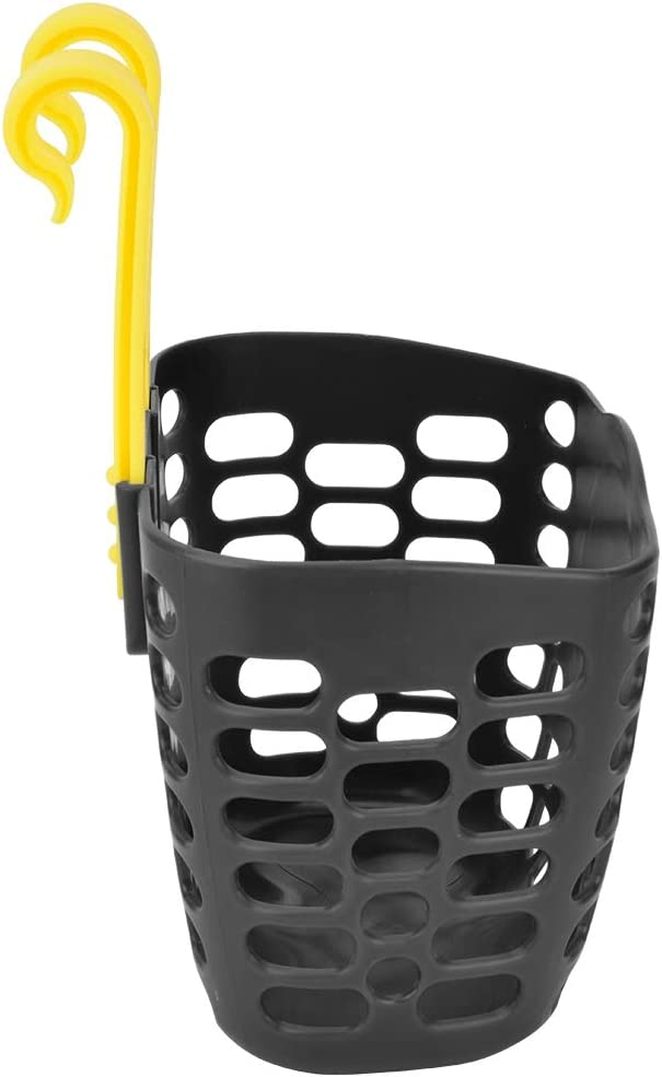 Outdoor Children Bicycle Scooter Front Basket Bike Cycle Shopping Holder Black