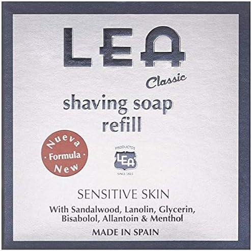 Lea - CLASSIC jabón de afeitar recarga 100 gr